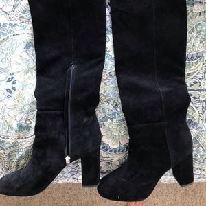 Via Spiga Leather Knee high boots